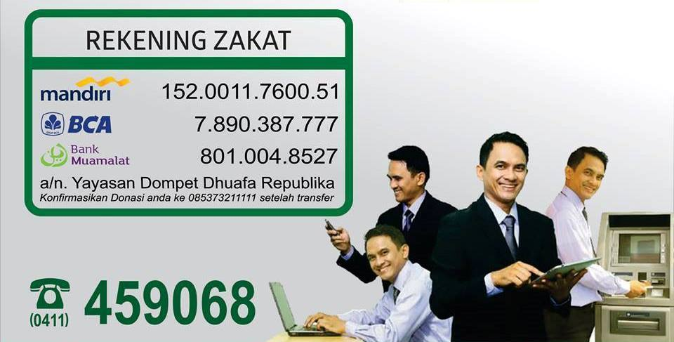 rekening-zakat-dompet-dhuafa-sulsel