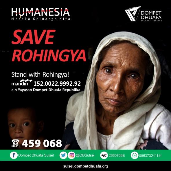 Dompet Dhuafa Kembali Gulirkan Bantuan untuk Rohingya