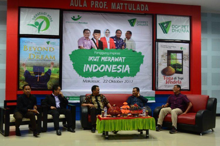 "Dompet Dhuafa Gelar Panggung Inspirasi ""Ikut Merawat Indonesia"" di Makassar"