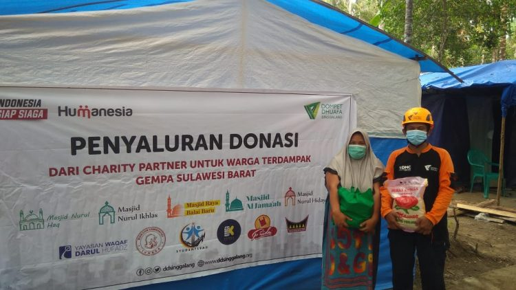 Dompet Dhuafa Kembali Salurkan Bantuan Sembako untuk Korban Gempa Sulbar