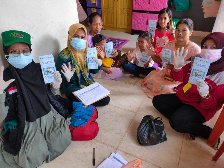 Dompet Dhuafa Lakukan Layanan Skrining Ketuk Pintu dan Bantuan Gizi Pasien TB