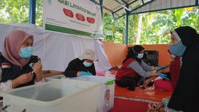 Bantu Penyintas Gempa Majene Di Bulan Ramadan, DD Sulsel Lakukan Aksi Layanan Kesehatan