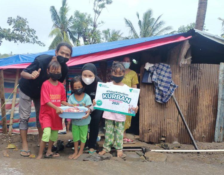 Dompet Dhuafa Sulsel Tebar Hewan Kurban Hingga Ke Wilayah Terdampak Bencana Alam