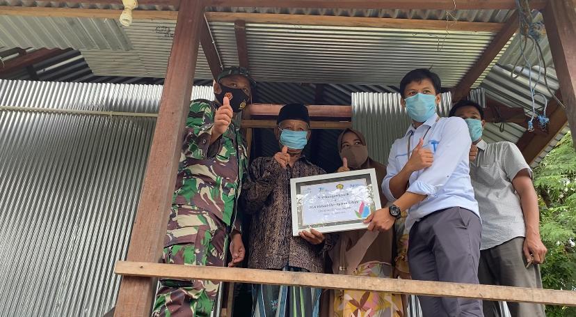 PLN ULP Barru gandeng DD Sulsel, Salurkan Listrik Gratis Untuk Keluarga Pra Sejahtera