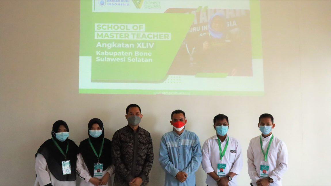 Tingkatkan Mutu Guru, DD Sulsel Gelar School of Master Teacher di Kabupaten Bone